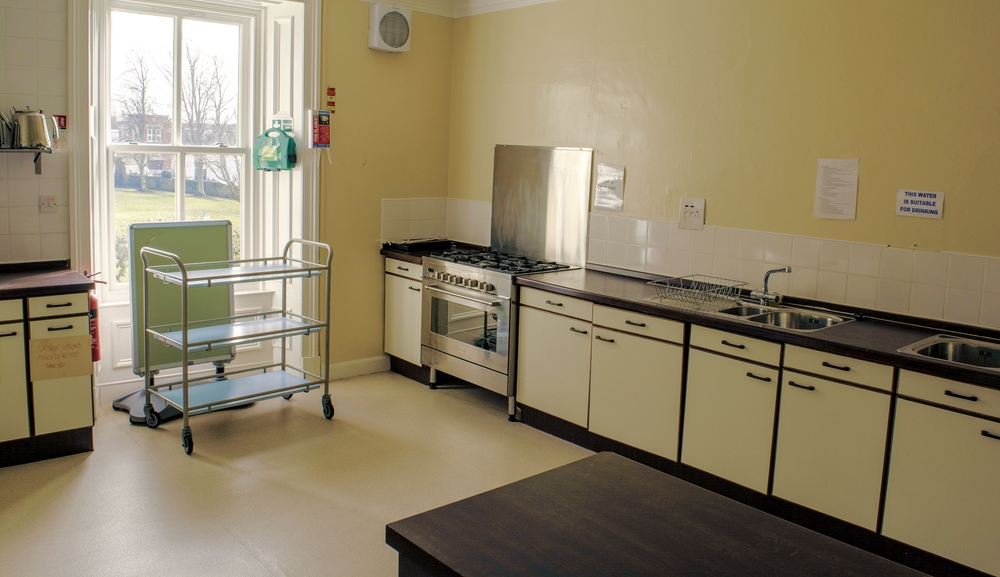 The Church Hall kitchen facilities